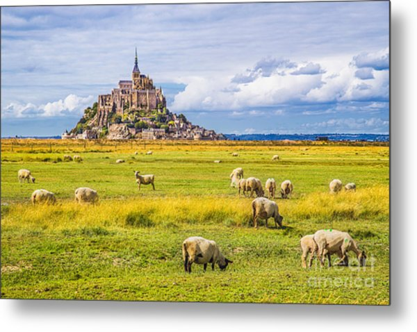 Beautiful View Of Famous Historic Le Metal Print by Canadastock