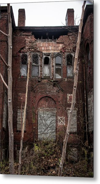 Beauty In Decay Metal Print