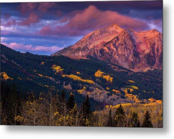 Beckwith At Sunrise Metal Print