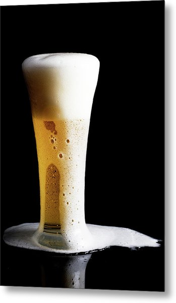 Beer Metal Print by 101cats