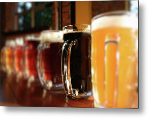 Beer Fest Metal Print by Nodulespix
