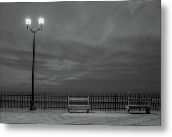 Before Dawn On The Boards Metal Print