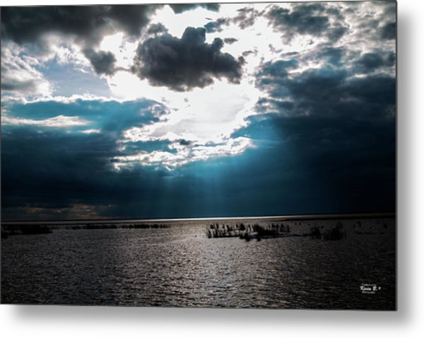 Beginning Of The End Of The Day Metal Print