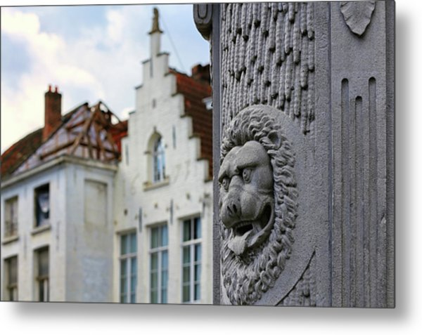 Belgian Coat Of Arms Metal Print