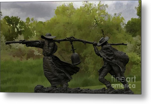 Bell Keepers In A Storm Metal Print