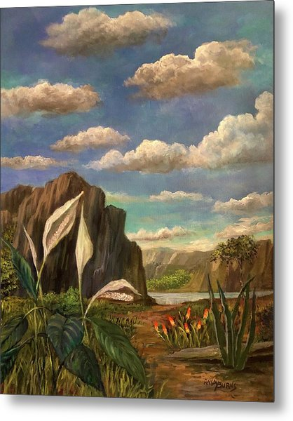 Beneath The Clouds Of Africa Metal Print