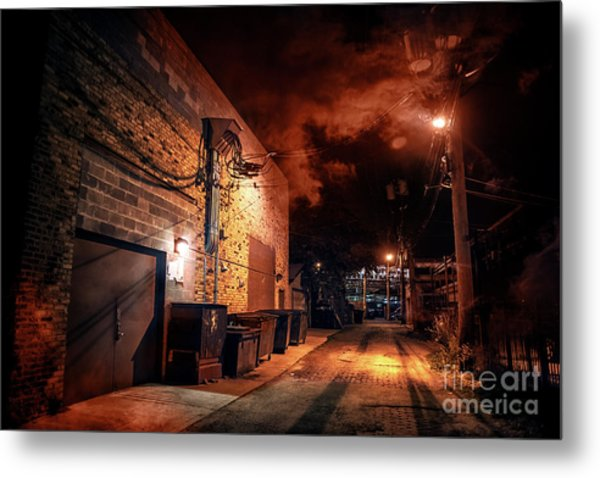 Between Midnight And Dawn Metal Print