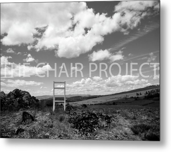 Beyond Here / The Chair Project Metal Print