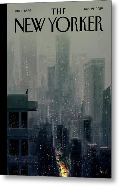 Big City Metal Print