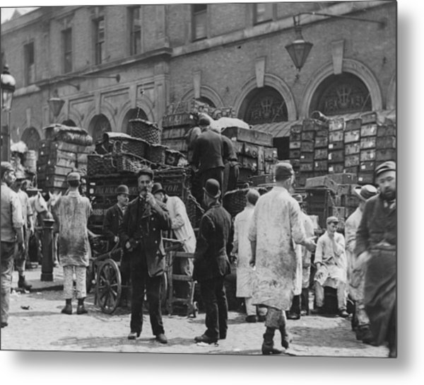 Billingsgate Metal Print by Paul Martin
