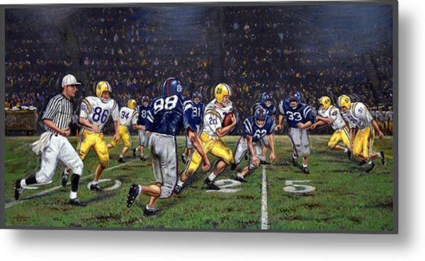 Billy Cannon's Halloween Heisman Haul Metal Print