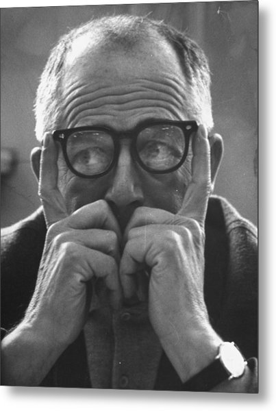 Billy Wilder Metal Print by Gjon Mili