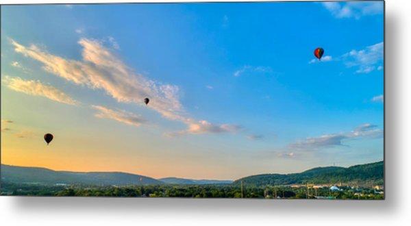 Binghamton Spiedie Festival Air Ballon Launch Metal Print