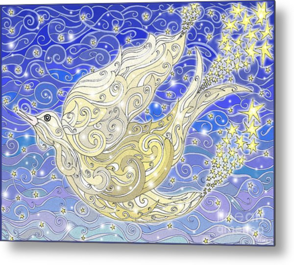 Bird Generating Stars Metal Print