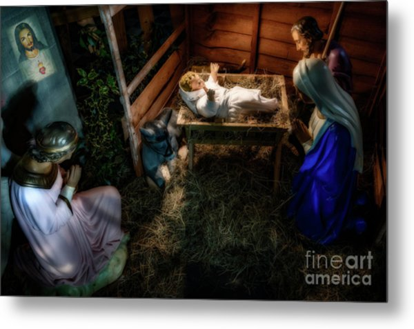 Birth Of Jesus Christ Metal Print