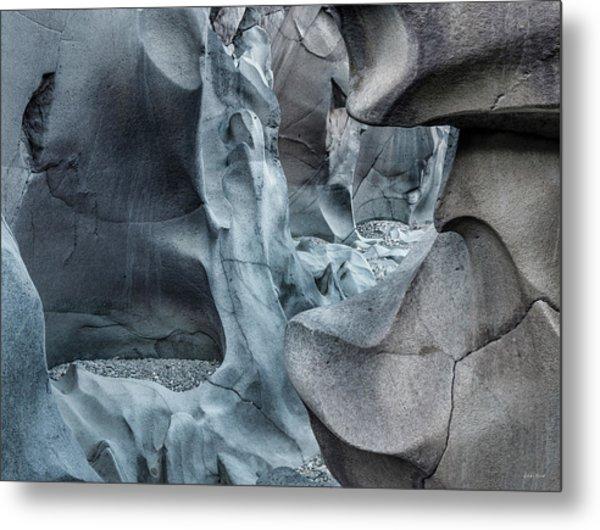 Black Magic Canyon 10b Metal Print by Leland D Howard