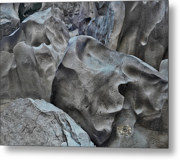 Black Magic Canyon 5b Metal Print by Leland D Howard
