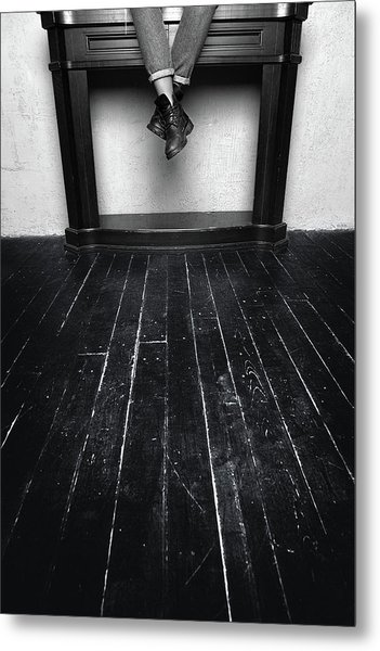 Black Shoes #9397 Metal Print