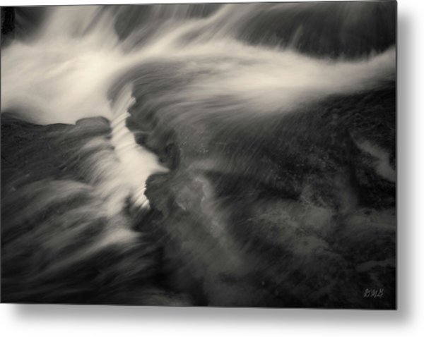 Blackstone River Xxv  Toned Metal Print by David Gordon