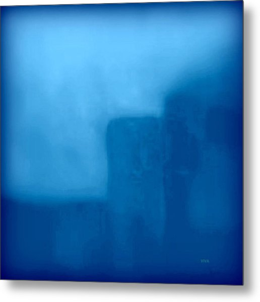 Blue Day - The Sound Of Silence  Metal Print