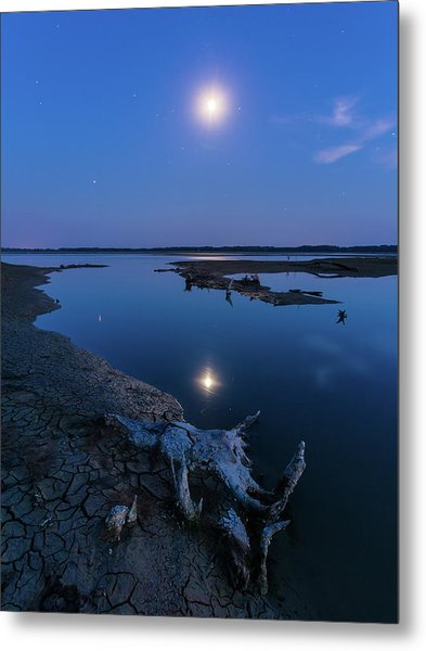 Blue Moonlight Metal Print