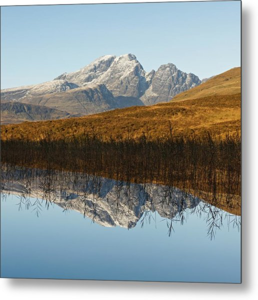 Metal Print featuring the photograph Blue Skye by Stephen Taylor