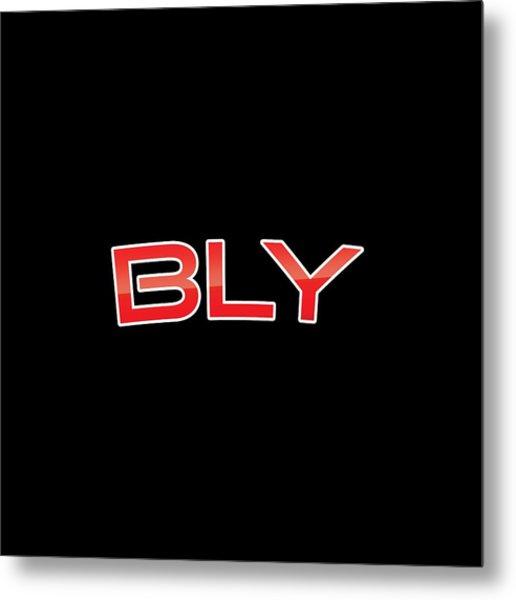 Bly Metal Print