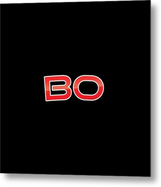 Bo Metal Print