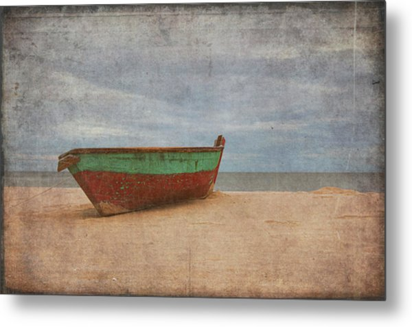 Metal Print featuring the digital art Boat by Christopher Meade