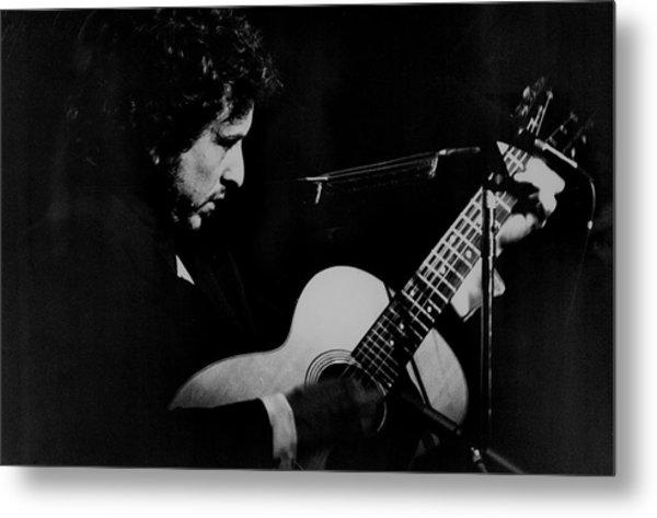 Bob Dylan At Madision Square Garden Metal Print