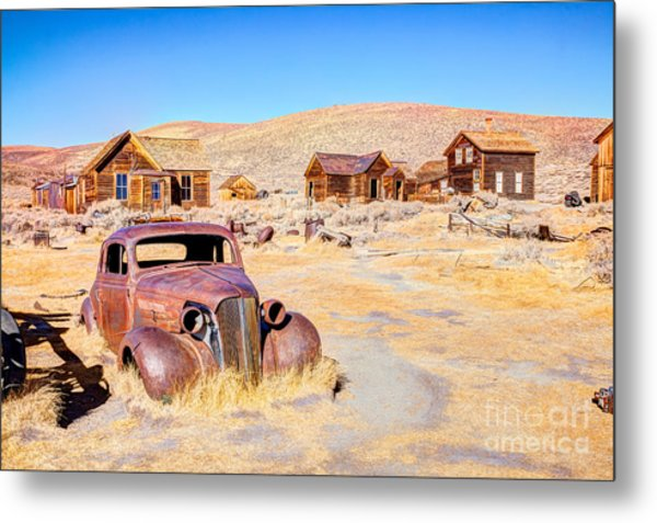 Bodie Is A Ghost Town In The Bodie Metal Print