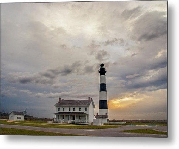 Bodie Island Lighthouse No. 2 Metal Print