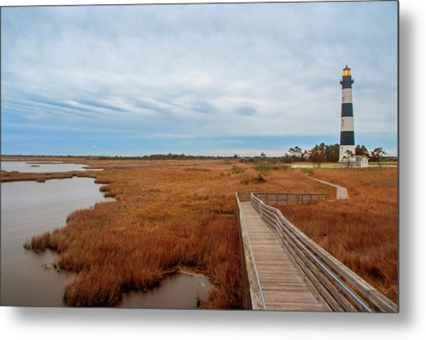 Bodie Island Lighthouse No. 3 Metal Print