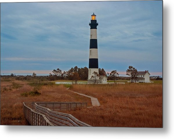 Bodie Island Lighthouse No. 4 Metal Print