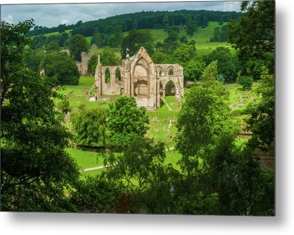 Bolton Abbey, Yorkshire Dales Metal Print by David Ross
