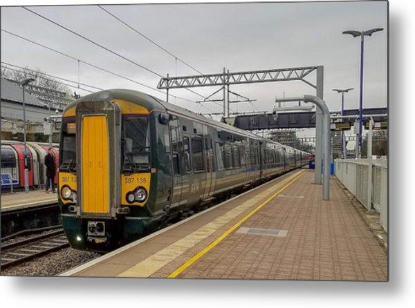 Bombardier Class 387 Electrostar Commuter Train Metal Print