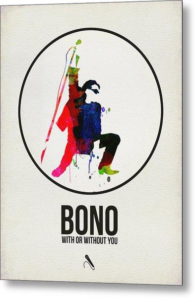 Bono II Metal Print