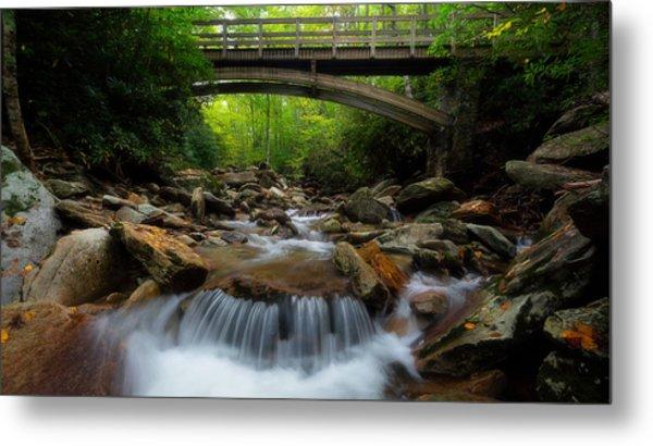 Boone Fork Bridge - Blue Ridge Parkway - North Carolina Metal Print