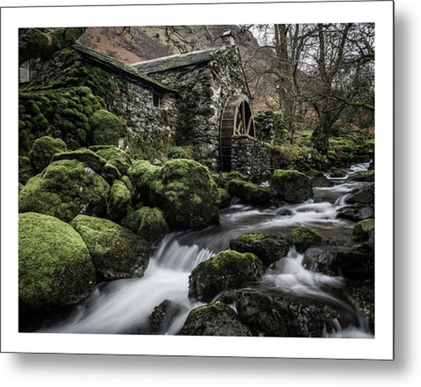 Borrowdale Mill  Metal Print