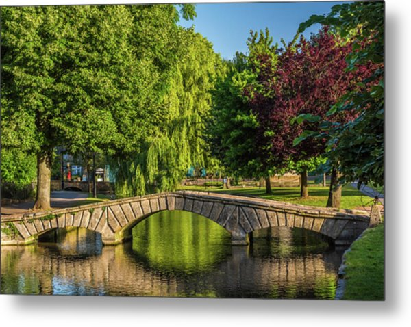 Bourton-on-the-water, Gloucestershire Metal Print by David Ross