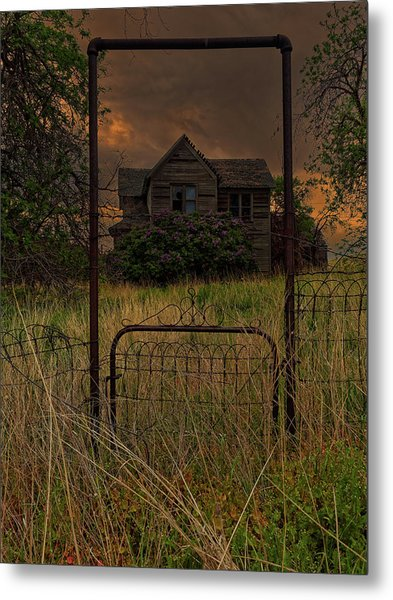 Boyd Farmhouse Metal Print