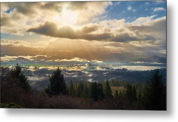 Metal Print featuring the photograph Breakthrough by Whitney Goodey