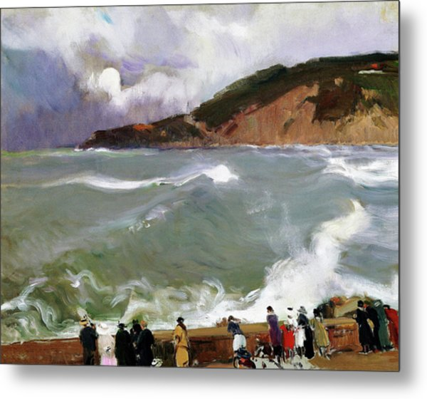 Breakwater, San Sebastian - Digital Remastered Edition Metal Print