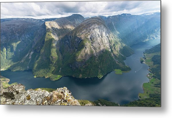 Metal Print featuring the photograph Breiskrednosie, Norway by Andreas Levi