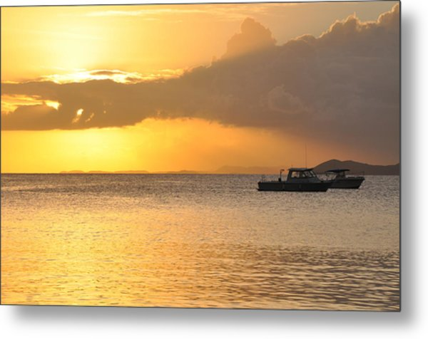 Brewers Bay Sundown Metal Print