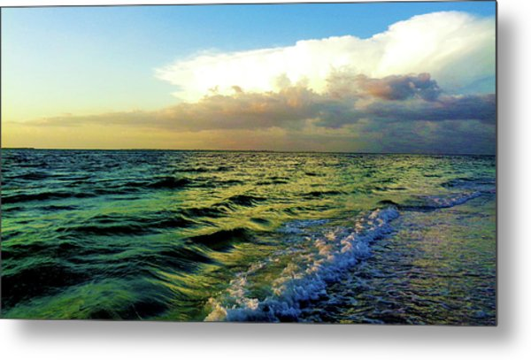Brewing Storm Metal Print