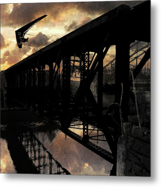 Bridge I Metal Print