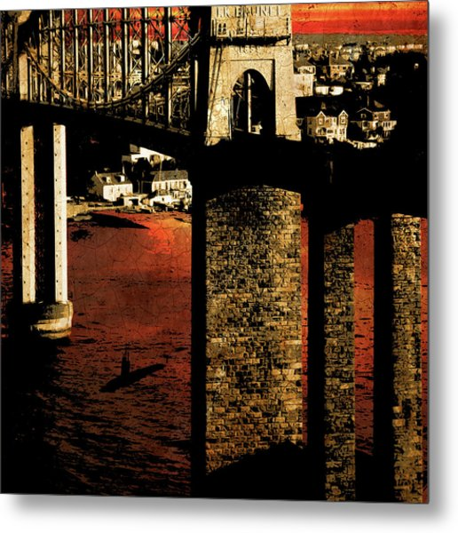 Bridge II Metal Print
