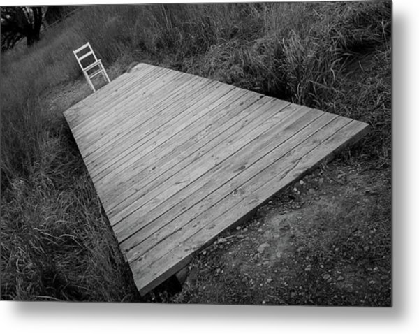 Bridge / The Chair Project Metal Print