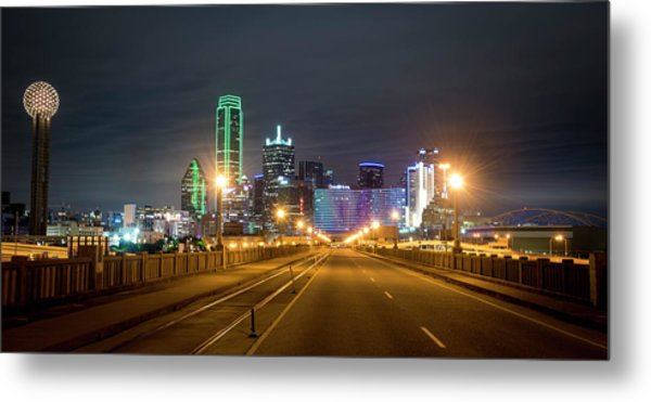 Metal Print featuring the photograph Bridge To Dallas by David Morefield